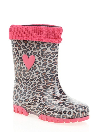 Yağmur Çizmesi-Pink Step